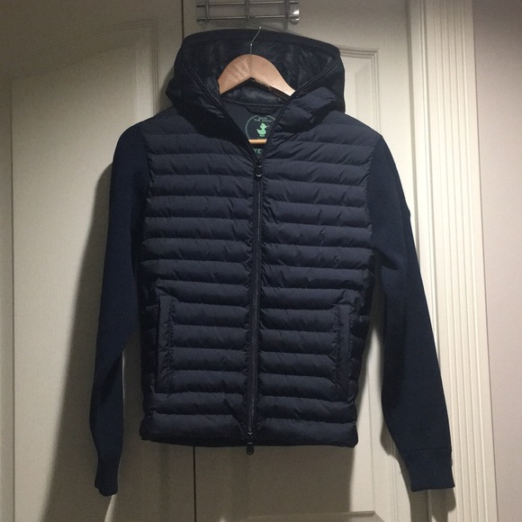 Save The Duck women's navy blue jacket size 0
